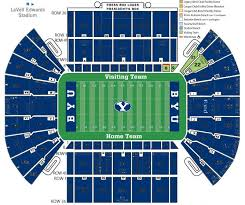 Byu Cougar Stadium Seating Chart Cougars Should Wear Blue What Lavell Edwards Stadium Would
