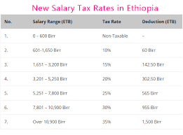 Payroll Tax Calculator Texas 2015 Salary Income Tax Calculation In Ethiopia Pension Gross