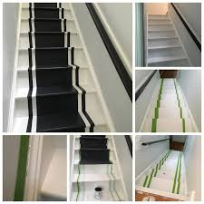 Painted Stairs Namesake Design One Room Challenge Painted Stairs