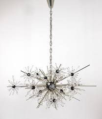 an iconic large mid century sputnik chandelier designed by hans harald rath in the