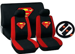 steelers car seat covers cover superman accessories bench shoulder pads steering wheel red auto pink