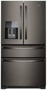 what is black stainless steel. Wonderful Stainless 2 Frigidaire FGHB2868TD Gallery 268 CU FT Black Stainless Steel French  Door Refrigerator On What Is