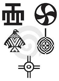 Ilustrace8678700 Americké A Africké Symboly Indiáni Autor