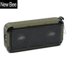 online buy whole speaker jack wiring from speaker jack new bee outdoor portable waterproof wireless bluetooth speaker microphone 3 5 jack nfc bicycle mount led