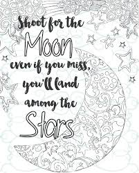 Small Picture Adult Inspirational Coloring Page printable 04 Shoot for the