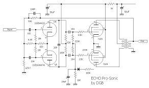 guitar amp circuit diagram main