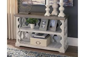 white small sofa table