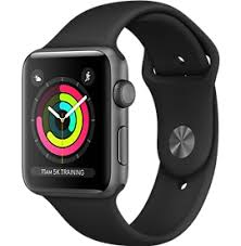 apple 2. space gray aluminum case with black sport band apple 2 o