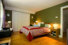 Pink And Green Walls In A Bedroom Green Painted Bedroom Walls Shaibnet