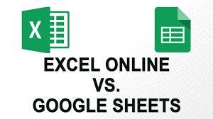 Sheet Online Excel Online Vs Google Sheets No Youtube Ads