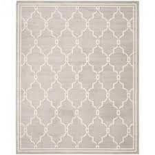 safavieh amherst light gray ivory 9 ft x 12 ft indoor outdoor area throughout
