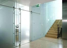 interior sliding glass doors residential large glass sliding door office frosted sliding interior door doors designs