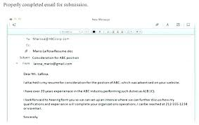 How To Send Resume In Email Noxdefense Com