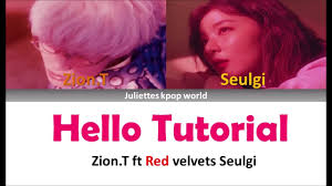 zion t red velvets seulgi o tutorial color coded han rom eng s