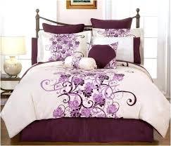 purple bedroom set silver grey