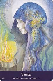 Goddesses Of The New Light Hestia Vesta Goddess God Celtic Goddess Triple
