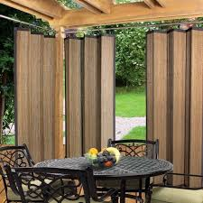 awesome outdoor curtain rods for deck