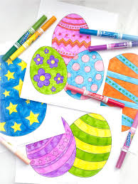 Click on an image below. Free Printable Easter Egg Coloring Pages For Kids