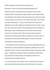 how to write composition essay