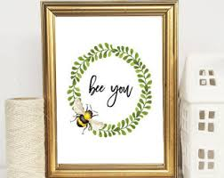 bee quote etsy