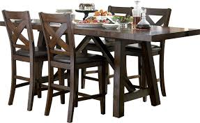 the brick dining room sets. Adara 5-Piece Counter-Height Dining Package \u2013 Rectangle Table | The Brick Room Sets