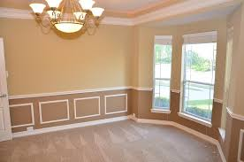 dining room chair rail molding