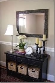 Shaker entry tables present wonderful decorating opportunities that ...