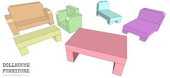 miniature furniture plans. Miniature Furniture Plans. Click Here For A Printable Pdf File Of The Dollhouse Plans M