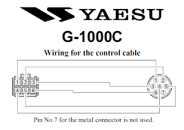 yaesu g 1000c rotators at �499 95 ham radio Wireless Antenna Rotor at Yaesu Rotor Wiring Diagram
