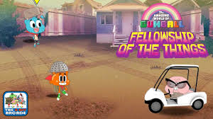 gumball fellowship of the things evil reveals its old wrinkly face cartoon network games
