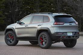 Have a look at the Jeep Cherokee Dakar Concept - The Fast Lane Car