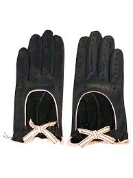agent provocateur black leather gloves