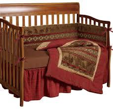 baby cascade lodge crib bedding set rustic baby