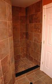 tile showers without doors awesome design ideas for walk in showers without doors intended shower no door decor 5 tiled shower glass door pictures