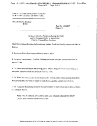 Best Photos Of Motion To Dismiss Order - Order Denying Motion To ...