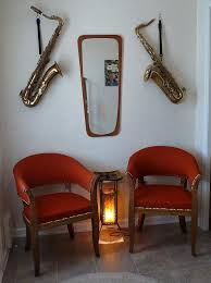 how to hang saxophone home decor