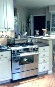 newest slide in gas range with downdraft b5573098 stove vent for elegant 833