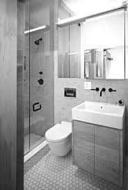Uncategorized, Awesome Modern Tiny Bathroom Interior Design Ideas For Small  Space Bathroom With Large Mirror