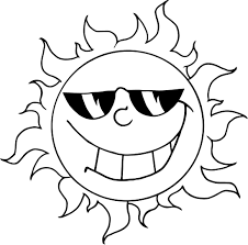 Small Picture Coloring Pages About The Sun Coloring Pages