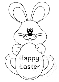 Easter Template Happy Easter Bunny Template Easter Template