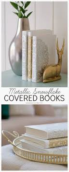 DIY covered books using white paint, Mod Podge, and doilies! Great handmade  gift idea for the holidays! You could also make book covers and omit the ...