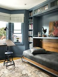 gray home office. Blue Gray Walls Bed Hardware Home Office Transitional With Contemporary Computer Desks Drafting Desk