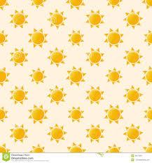 Sun Pattern Best Vector Sun Seamless Pattern Stock Vector Illustration Of Shape