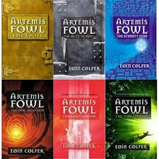 ok raise your hand if you haven heard of this series if your hand is raised where have you been seriously other than harry potter artemis fowl was the