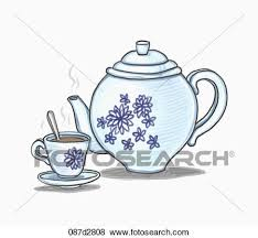 teacup and teapot drawing. Fine And Drawing Of A Tea Pot And Cup Intended Teacup And Teapot