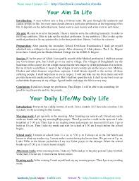 aim in my life essay my ambition in life essay aim of my life to become a doctor essay