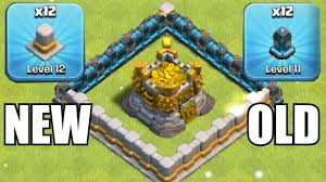 new walls gem spree to lvl 12 upgrades clash of clans