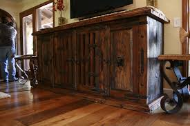 Hand Made Mesquite Buffet by Demejico Inc Manufactures