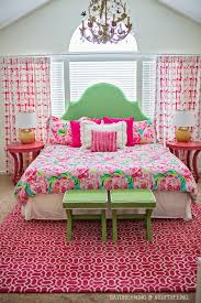 lilly pulitzer bedspread. Simple Lilly Lilly Pulitzer Master Bedroom Bit Much But I Like The Bedspread  This Is  Home In 2018 Pinterest Room And Home For Bedspread D