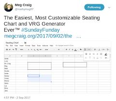 Seating Chart Randomizer Adding A Button Script To A Vrg Generator Google Sheet